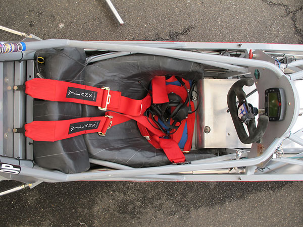 Willans six point cam-lock safety harness.