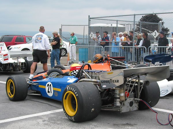 Big engines, great big tires, wings, and flashy paint jobs. No wonder Formula 5000 excited fans!