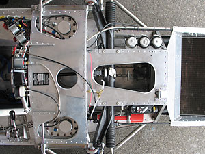Lola T190 monocoque tub