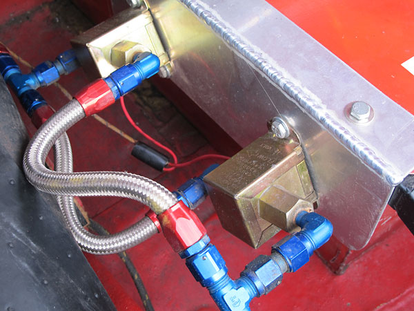 Dual Facet solid state cube fuel pumps.