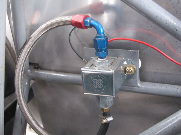 Facet cube-type solid state fuel pump.