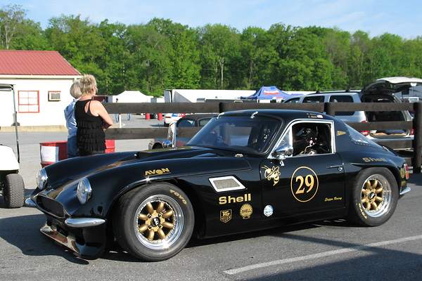 Michael Zappa's 1969 TVR Tuscan Race Car, Number 29