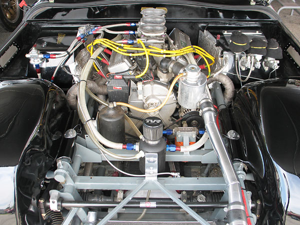 3.0L Ford Cosworth Essex V6, built by Ric Wood in England.