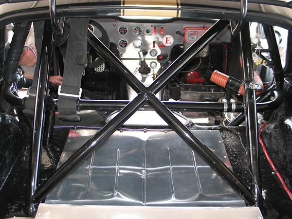 The fully-operable rear hatch was entirely custom fabricated.