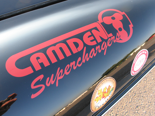 Camden Superchargers decal.