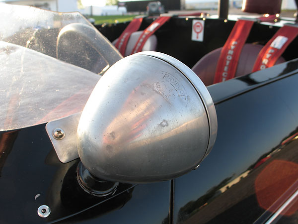 Raydyot (Made in England) aluminum side view mirror.