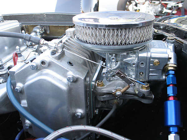 Holley model 2300 (500cfm) two barrel carburetor.