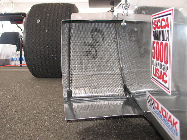 Dual sidepod mounted C&R aluminum radiators, plumbed in series.