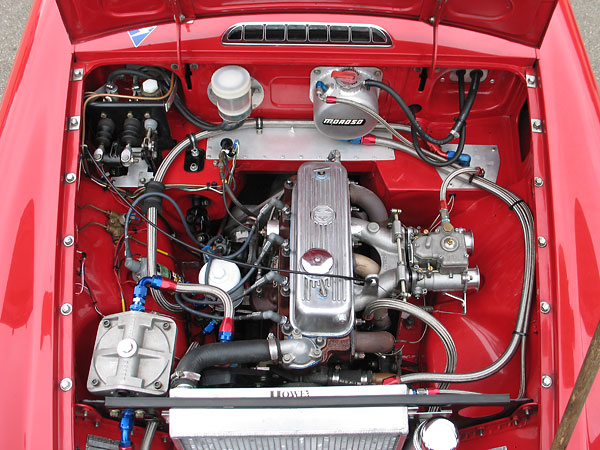 BMC B-Series 1.8L four cylinder engine.