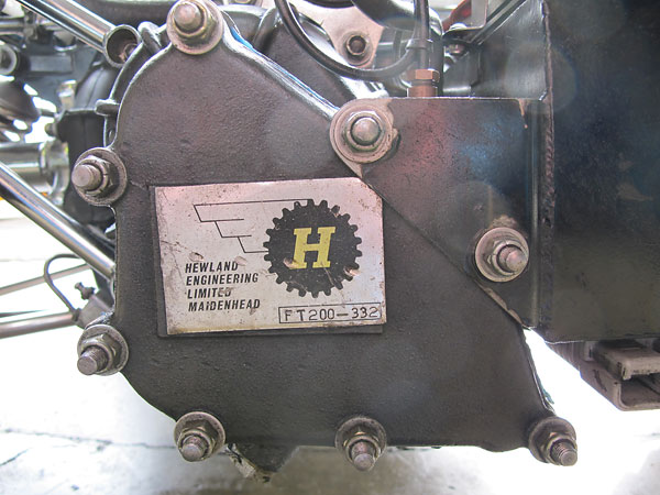 Hewland built over 2000 of these tough little FT200 transaxles.