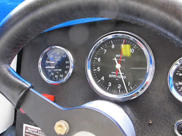 Smiths Chronometric tachometer (0-10000rpm) with tattletale.