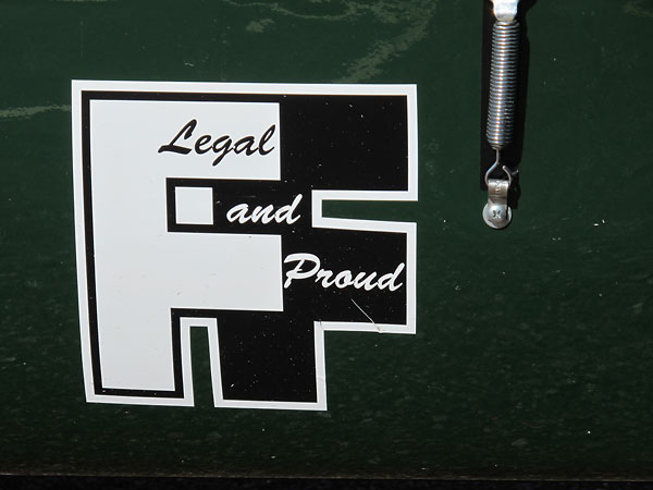 Formula Ford / Legal and Proud.