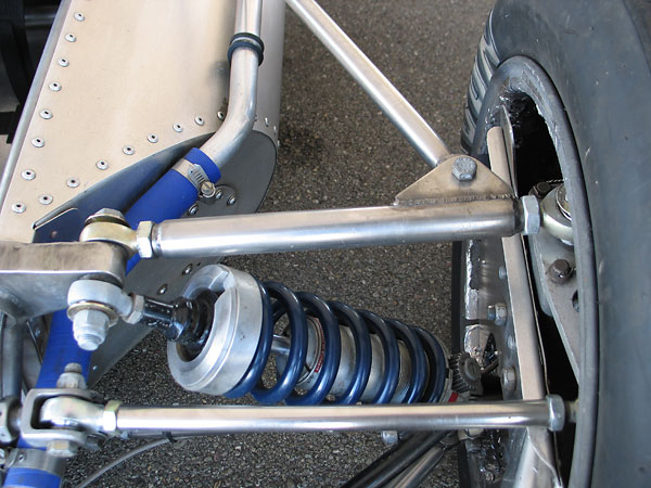 KONI 8212 double adjustable coilover shock absorbers.
