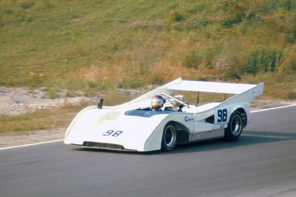 Charles Nearburg drives the McLaren M8F at Mosport WSR race, 1976