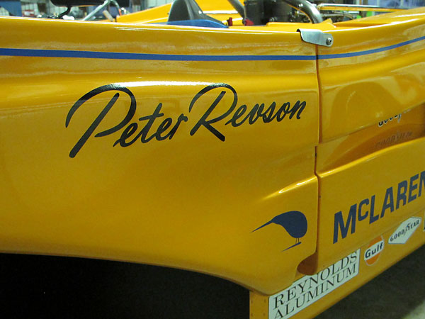Peter Revson won the Can-Am championship in 1971 by scoring 142 points and winning five of the ten races.