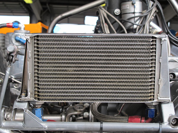 19-row transaxle oil cooler.