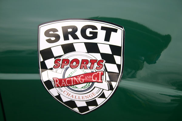 Sports Racing and GT Challenge sticker.