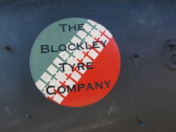Blockley Tyre Company logo.