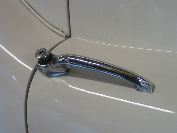 Jaguar XK140 door handles