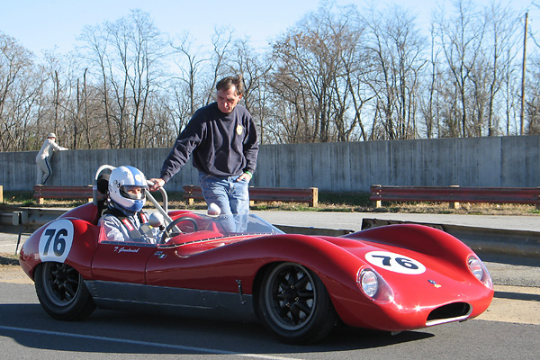 Tom Grudovich's 1960 Lola Sports Mark One Race Car, Number 76