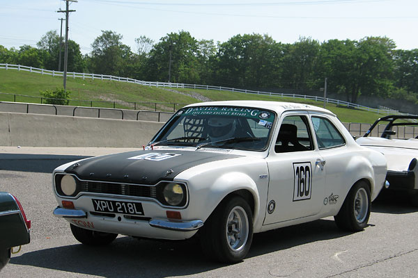 Escort Mk1 was campaigned by Ford works teams from 1968 through 1975.