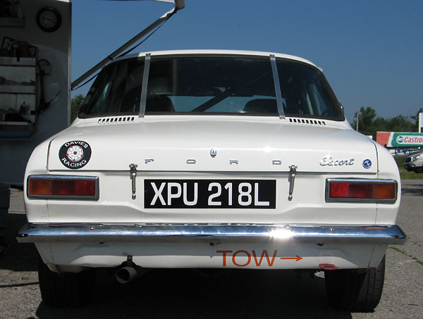 Export style taillamp clusters and original style bumpers have been retained.