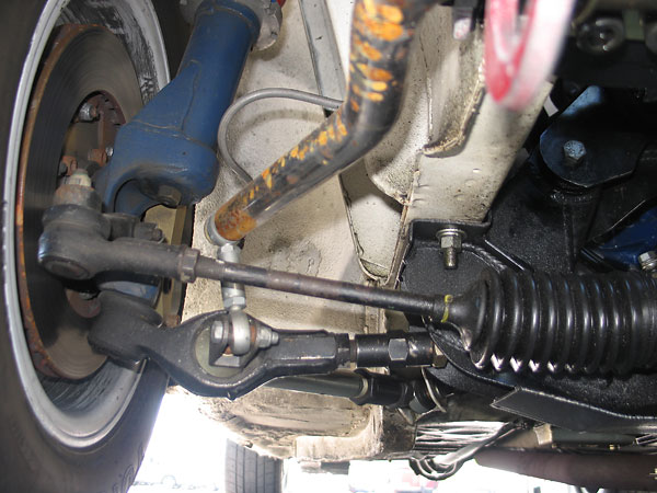 As originally designed by Ford, the front anti-sway bar served double-duty...