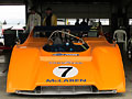 Scott Hughes's McLaren M8F Can-Am racecar